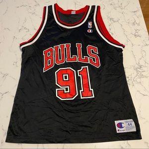 Vintage Dennis Rodman #91 Chicago Bulls Jersey